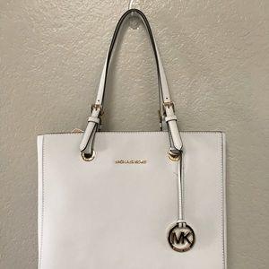 MICHAEL Michael Kors Saffiano Bag, Color White
